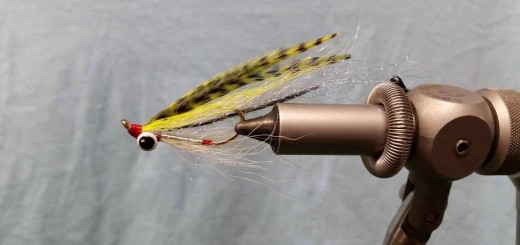 Friday Night Flies - Chartreuse Coho Clouser Minnow