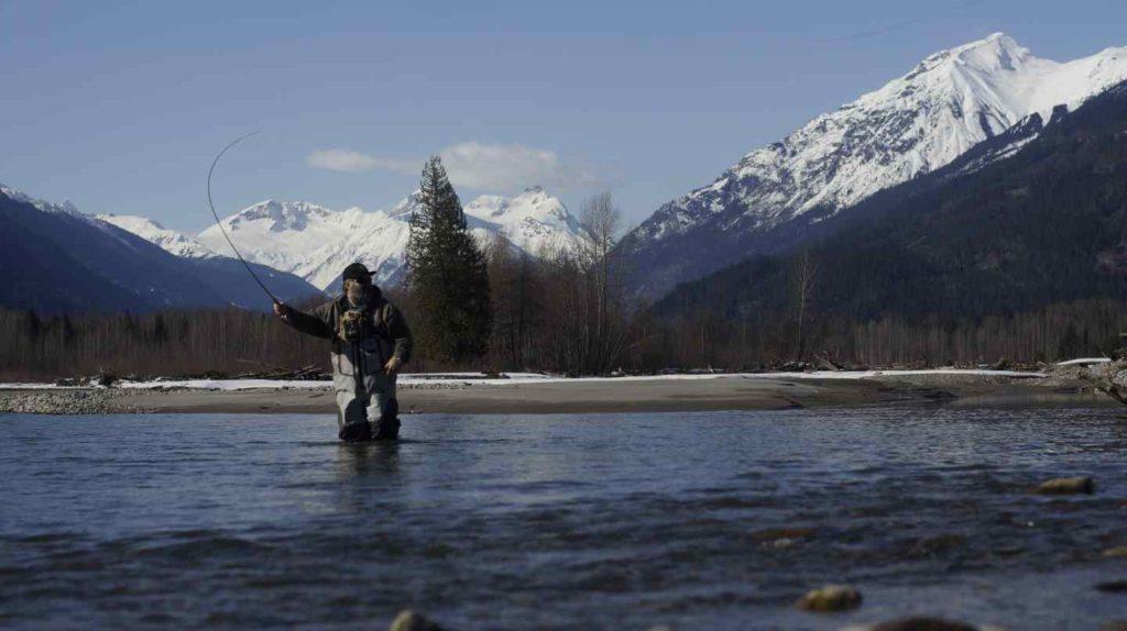 Fly fishing Whistler British Columbia Canada