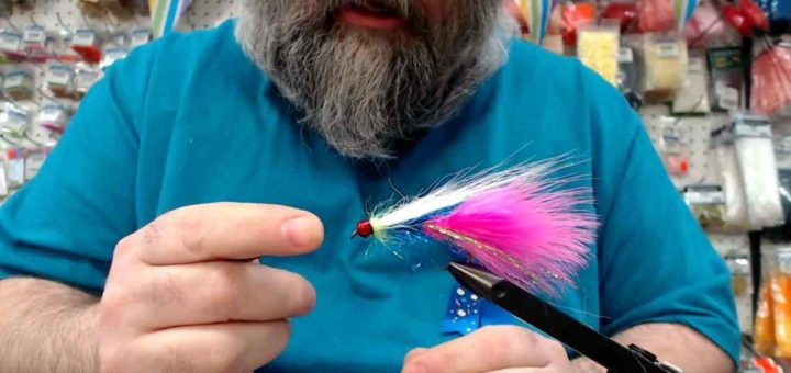 Friday Night Flies - Birthday Boy Steelhead Fly