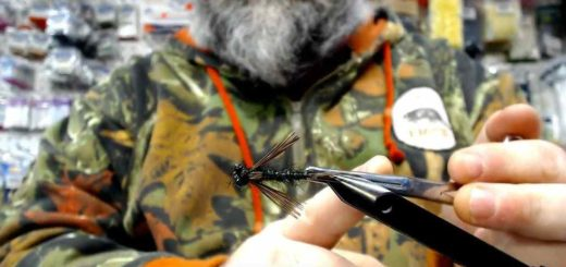 Friday Night Flies - Bk Damsel Nymph Fly