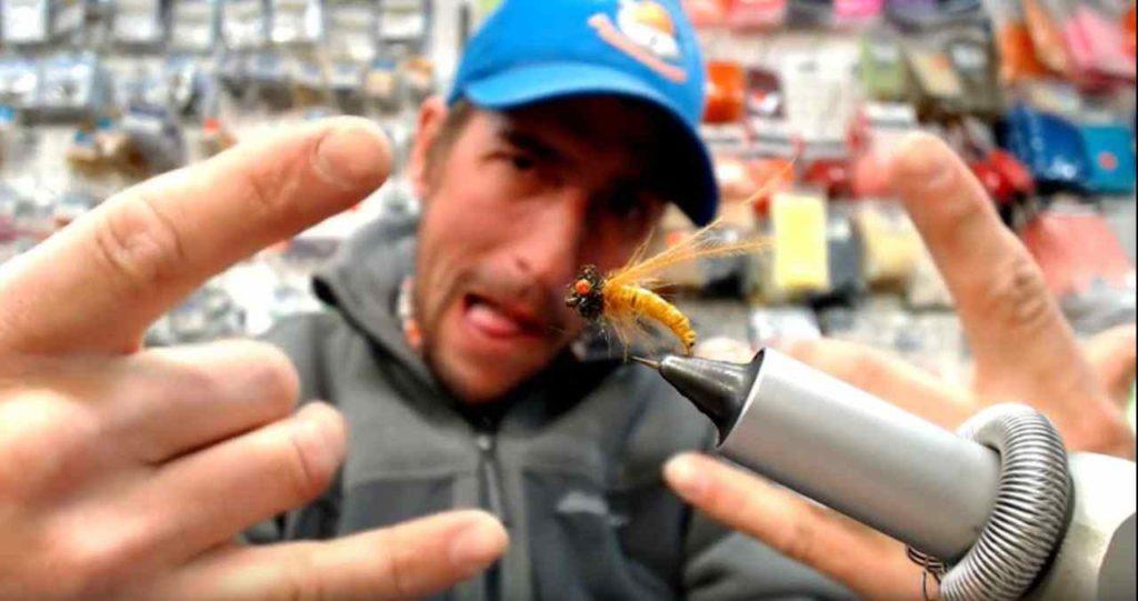 Friday Night Flies - CDC Horned Caddis Pupa