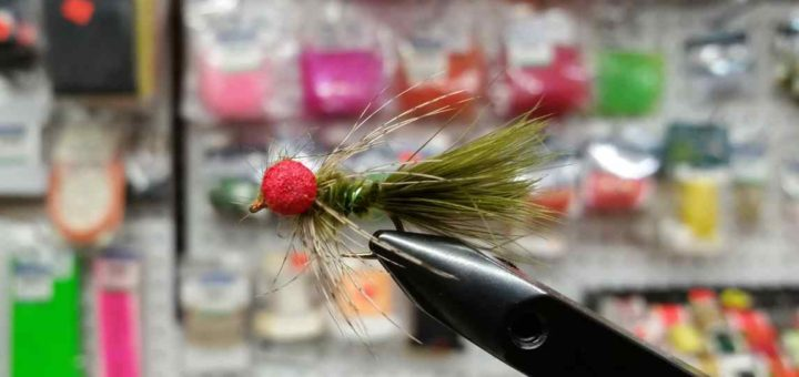 Friday Night Flies - Karl Dunphy's mistletoe boobie fly