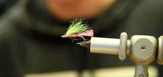 Friday Night Flies - Brendan's Handlebar Variant Pink Fly