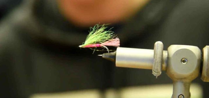 Friday Night Flies - Brendan's Handlebar Variant Pink Fly