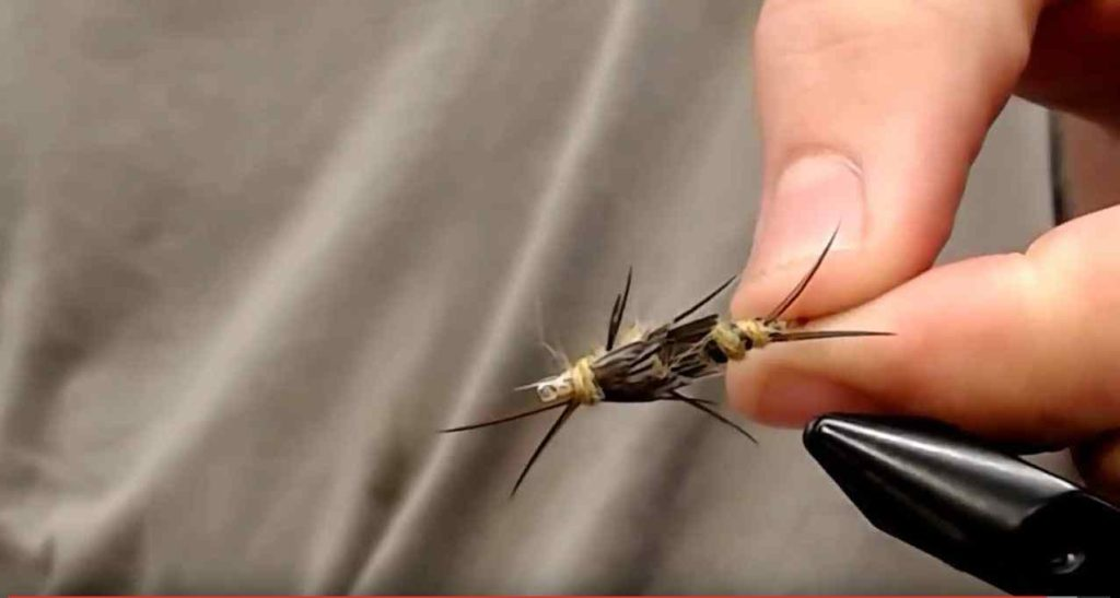 Friday Night Flies - DOUBLE BEAD GOLDEN STONEFLY