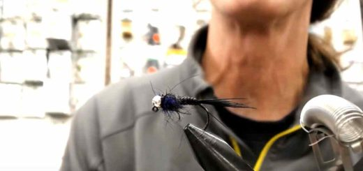 Friday Night Flies - Go To Black Jig Fly