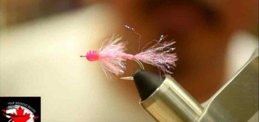 Friday Night Flies - Jordan's Pink Fly