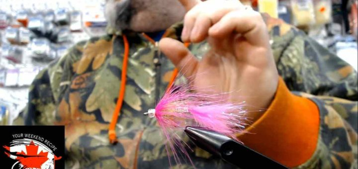 Friday Night Flies - Mr Pinky Salmon Fly