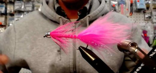 Friday Night Flies - Moto Minnow Steelhead Variant