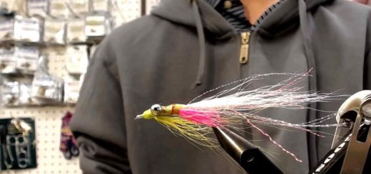 Friday Night Flies - Phosphorescent Clouser