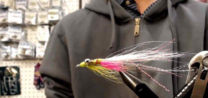 Friday Night Flies - Phosphorescent Clouser
