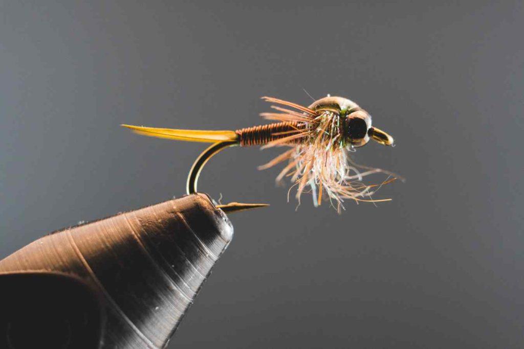 Friday Night Flies - Olive Copper John