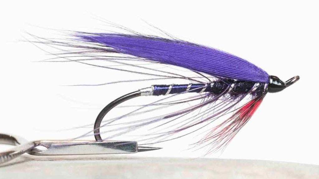 Friday Night Flies - Purple Spey