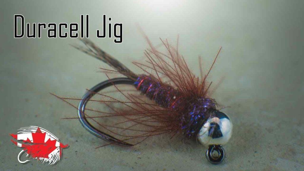 Friday Night Flies - Duracell Jig