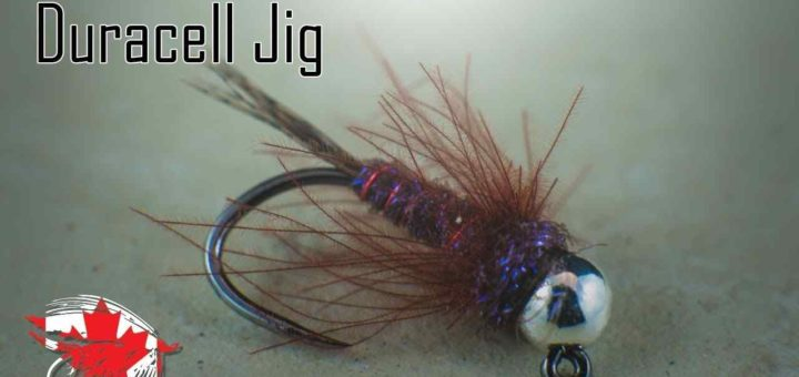 Friday Night Flies - Duracell Jig