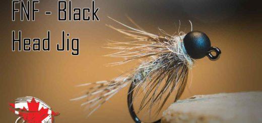 Friday Night Flies - Black Head Jig
