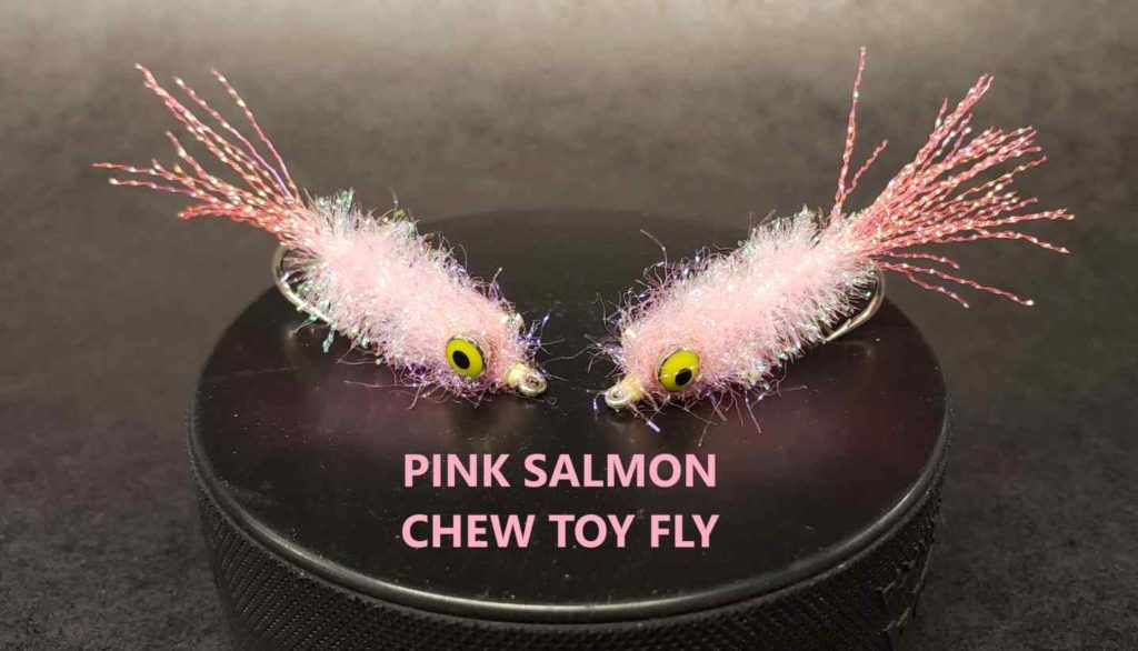 Friday Night Flies - Pink Salmon Chew Toy
