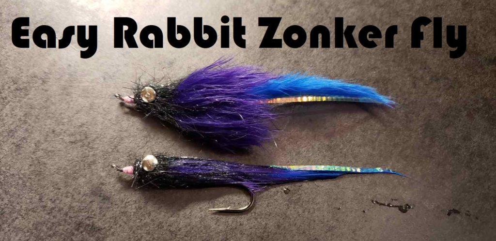 Friday Night Flies - Easy Rabbit Zonker Fly