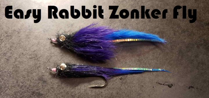 Friday Night Flies - Easy Rabbit Zonker Fly