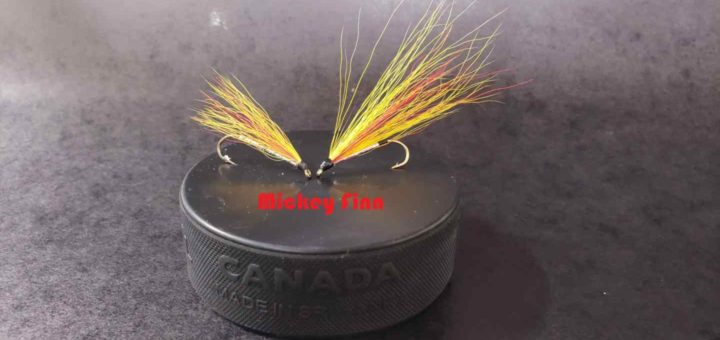 Friday Night Flies - How to tie a Mickey Finn Fly