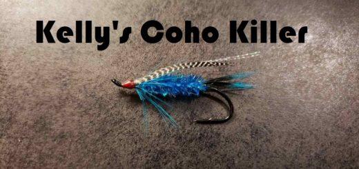 Friday Night Flies - Kelly's Coho Killer