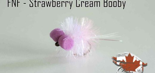 Friday Night Flies - Strawberry Cream Booby Fly