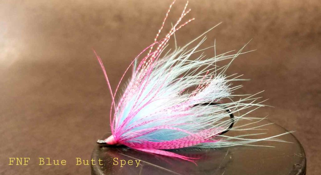 Friday Night Flies - Blue Butt Juice Spey