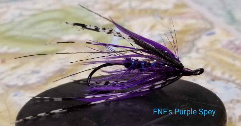 Friday Night Flies - FNF Purple Spey