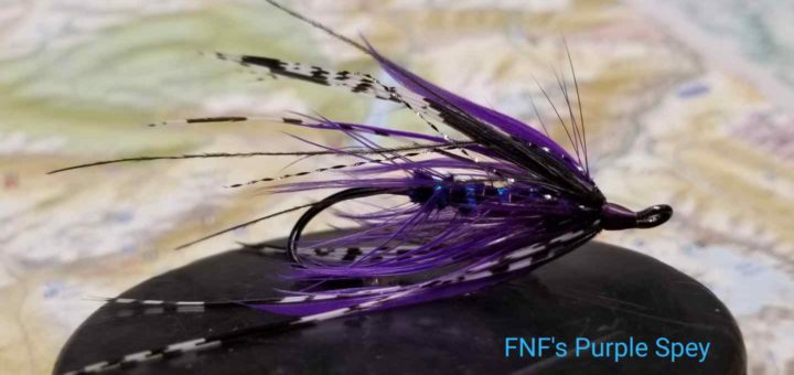 Friday Night Flies - FNF Purple Spey