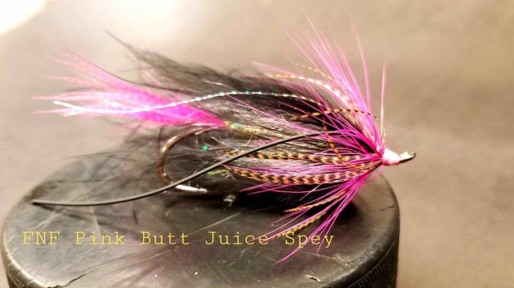 Friday Night Flies - Pink Butt Juice Spey