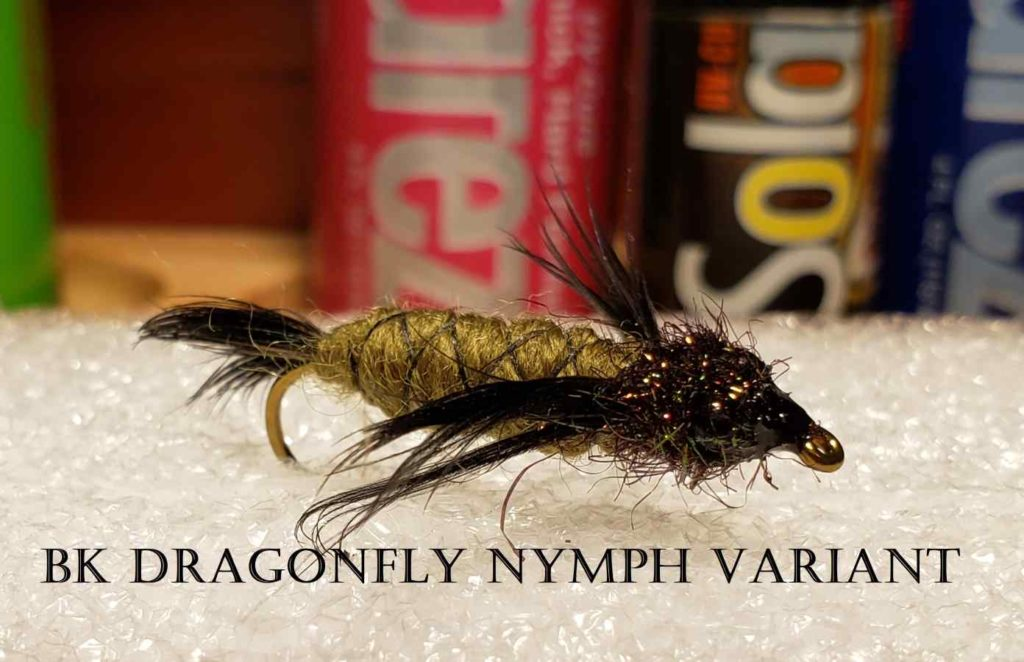 Friday Night Flies - BK Dragonfly Nymph Variant