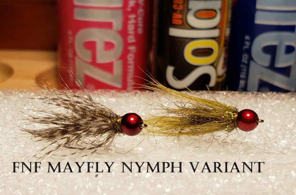 Friday Night Flies - FNF Mayfly Nymph Variant