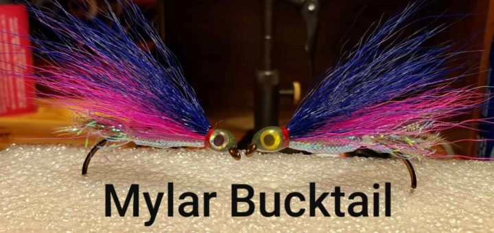 Friday Night Flies - Mylar Bucktail Fly