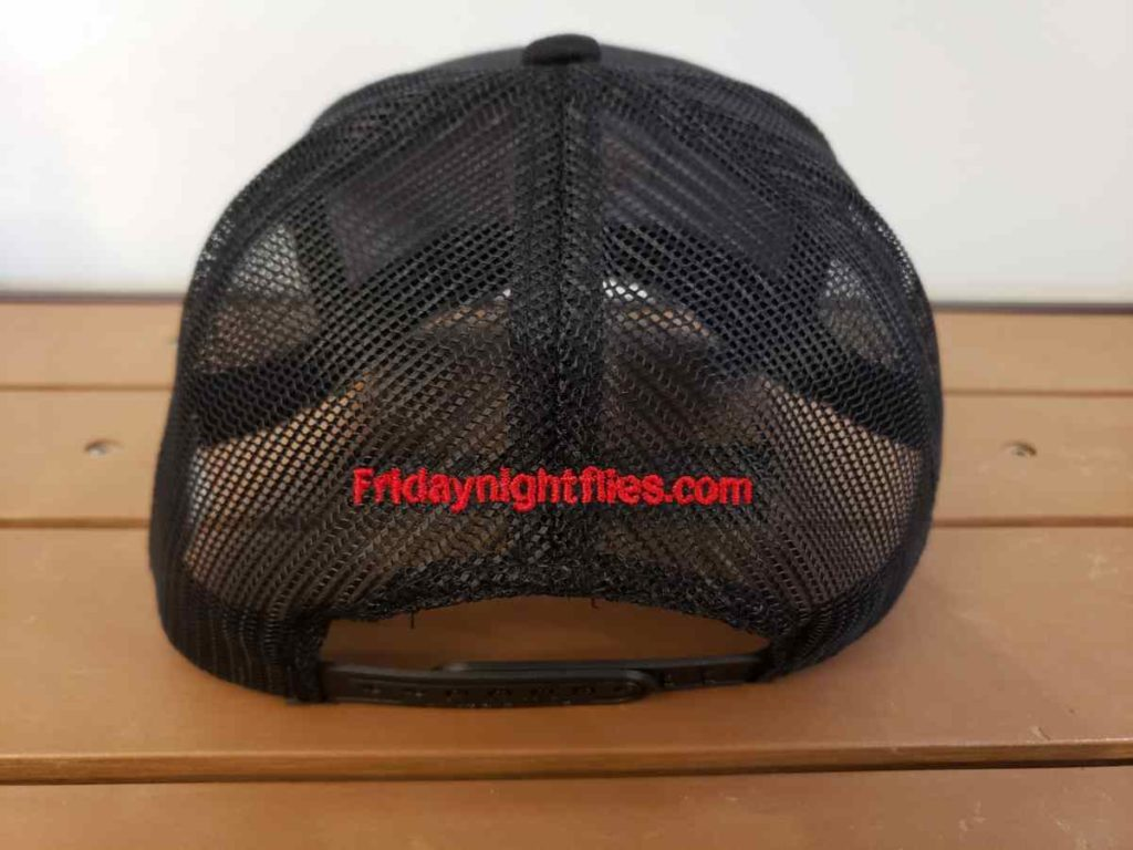 mesh back fishing hat