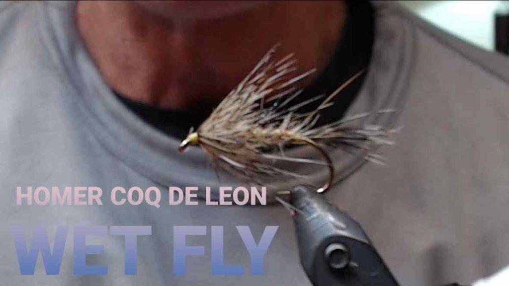 Friday Night Flies - Homer Coq De Leon Wet Fly