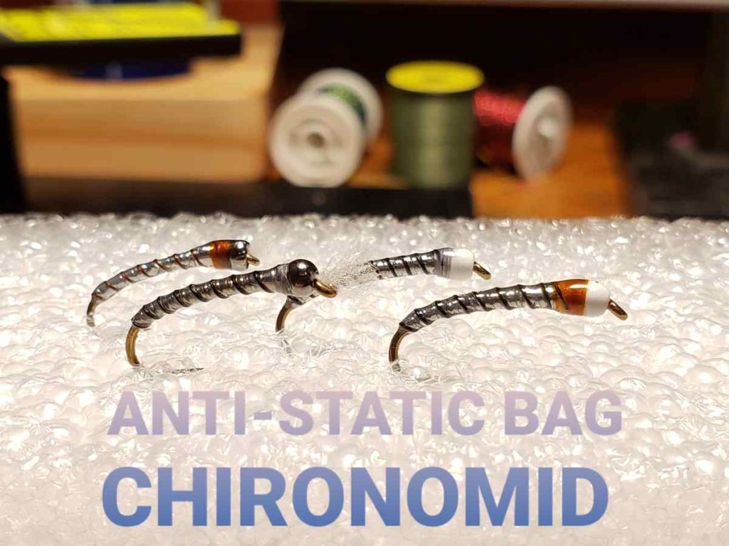Friday Night Flies - Anti-Static Bag Chironomid