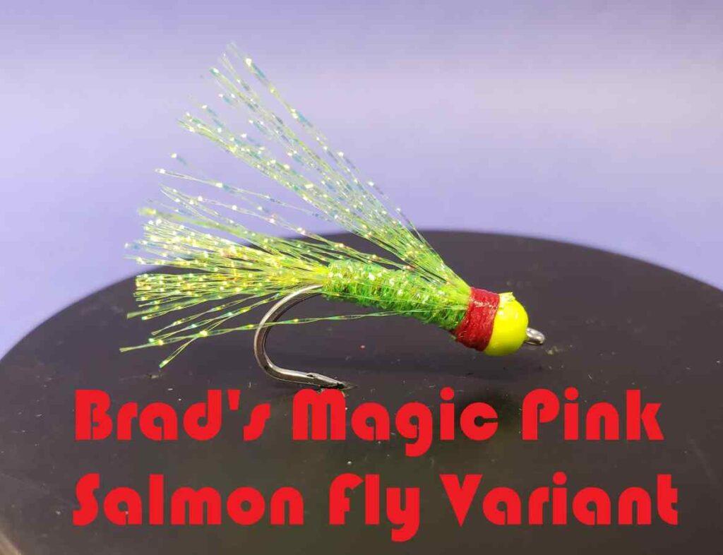 Friday Night Flies - Brad's Magic Pink Salmon Fly Variant