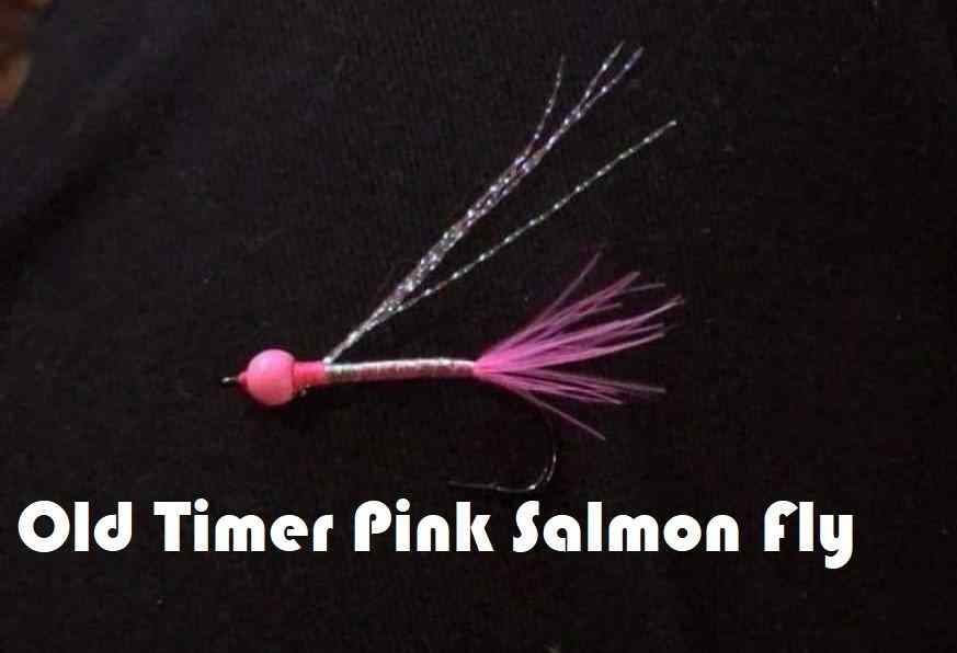 Friday Night Flies - Old Timer Pink Salmon Fly